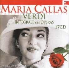 Maria Callas - Verdi, 17 CDs