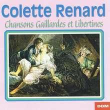 Colette Renard: Chansons Gaillardes Et Libertines, CD
