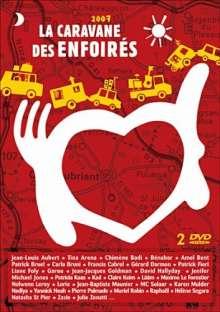 La Caravane Des Enfoires 2007, 2 DVDs