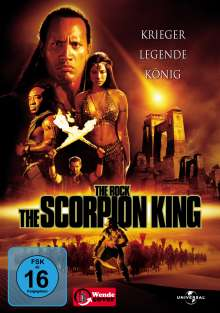 Scorpion King, DVD