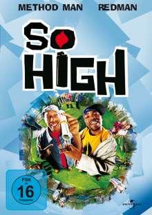 So High, DVD