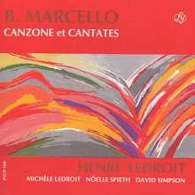 Benedetto Marcello (1686-1739): Canzone & Cantates, CD
