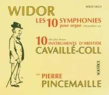 Charles-Marie Widor (1844-1937): Orgelsymphonien Nr.1-10, 5 CDs