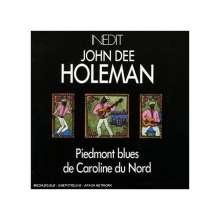 John Dee Holeman: Piedmont Blues De Caroline Du Nord, CD