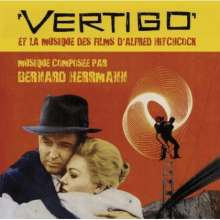 Bernard Herrmann (1911-1975): Filmmusik: Vertigo, CD
