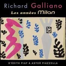 Richard Galliano (geb. 1950): The Milan Years, 2 CDs