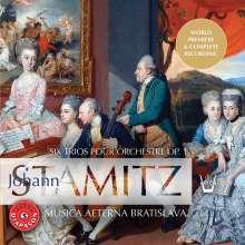 Johann Stamitz (1717-1757): Orchestertrios op.1 Nr.1-6, CD
