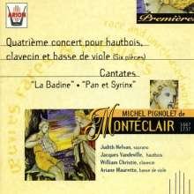 """Michel Pignolet de Monteclair (1667-1737): Kantate """"Pan und Syrinx"""", CD"""