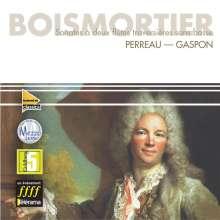 Joseph Bodin de Boismortier (1689-1755): Sonaten für 2 Flöten opp.8,17,25,27,29,47, CD