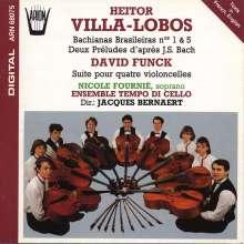 Heitor Villa-Lobos (1887-1959): Bachianas Brasileiras Nr.1 & 5, CD