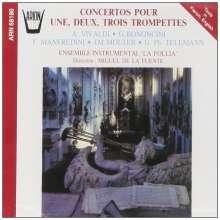 Konzerte für 1,2 oder 3 Trompeten, CD