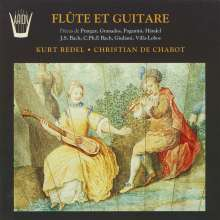 "Kammermusik für Flöte & Gitarre ""Flute Et Guitare"", CD"