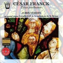 Cesar Franck (1822-1890): Orgelwerke, CD