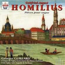 Gottfried August Homilius (1714-1785): Orgelwerke, CD