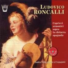 Ludovico Roncalli (1654-1713): Capricci armonici sopra la chitarra spagnola, CD