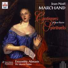 Jean-Noel Marchand (1665-1710): Cantiques Nr.1-4, CD