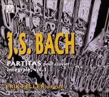 Johann Sebastian Bach (1685-1750): Partiten Vol.1 für Orgel, CD