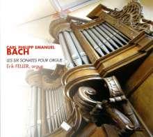 Carl Philipp Emanuel Bach (1714-1788): Orgelsonaten Wq.70 Nr.1-6, CD