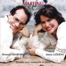 Bohuslav Martinu (1890-1959): Sonaten f.Cello & Klavier Nr.1-3, CD
