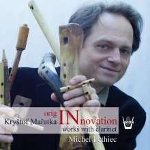 Krystof Maratka (geb. 1972): Kammermusik mit Klarinette, CD