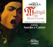 Tarquinio Merula (1590-1665): Madrigale e Altre Music, CD