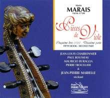 Marin Marais (1656-1728): Pieces de Viole Buch 5 (1725), 2 CDs