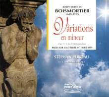 Joseph Bodin de Boismortier (1689-1755): Werke für Flöte solo, CD