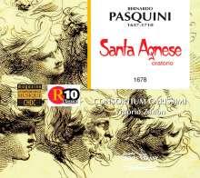 Bernardo Pasquini (1637-1710): Oratorio de Sainte Agnes, 2 CDs