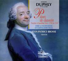 Jacques Duphly (1715-1789): Pieces de Clavecin Livre III & IV, CD