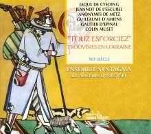 """Trouveres En Lorraine """"Touz Esforciez"""", CD"""