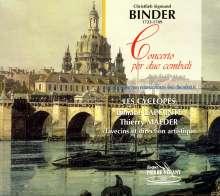 Christlieb Sigmund Binder (1723-1789): Konzerte für 2 Cembali & Orchester D-Dur & F-Dur, CD