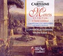 Giacomo Carissimi (1605-1674): 12 Motetten, CD
