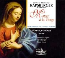 Giovanni Kapsberger (1580-1651): Motets a la Vierge, CD