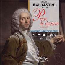 Claude Balbastre (1727-1799): Pieces de Clavecin en Manuscrit, CD