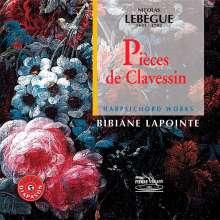 Nicolas Antoine Lebegue (1631-1702): Cembalowerke, CD