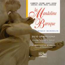 Duo Spirituoso - The Baroque Mandolin, CD