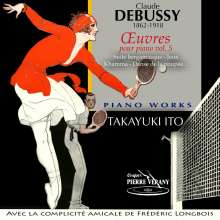 Claude Debussy (1862-1918): Klavierwerke Vol.5, CD