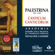 "Giovanni Pierluigi da Palestrina (1525-1594): Motetten ""Canticum canticorum"", CD"
