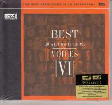 Best Audiophile Voices VI (XRCD2), XRCD