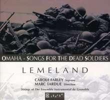 Aubert Lemeland (1932-2010): Konzert für Harfe & Streicher, CD