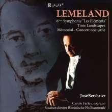 """Aubert Lemeland (1932-2010): Symphonie Nr.6 op.130 """"Les Elements"""", CD"""