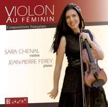 Sara Chenal & Jean-Pierre Ferey - Violon Au Feminin, 2 CDs