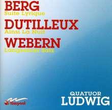"Henri Dutilleux (1916-2013): Streichquartett ""Ainsi la Nuit"", CD"