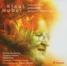 Klaus Huber (1924-2017): Protuberanzen, CD
