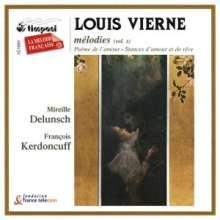Louis Vierne (1870-1937): Lieder Vol.2, CD