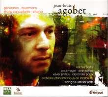 "Jean-Louis Agobet (geb. 1968): Klavierkonzert ""Ritratto concertante"", CD"