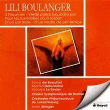Lili Boulanger (1893-1918): Chorwerke, CD