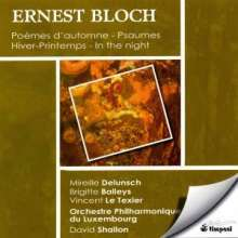 Ernest Bloch (1880-1959): Hiver-Printemps, CD