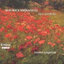 Maurice Emmanuel (1862-1938): Sonatinen für Klavier Nr.1-6, CD
