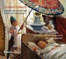 Florent Schmitt (1870-1958): Le Petit Elfe Ferme-l'OEil (Ballettmusik), CD